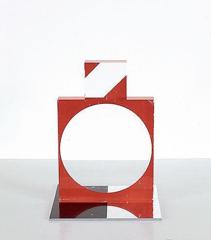 KUMI SUGAI (1919-1996) SANS TITRE Multiple en plexiglas et aluminium d