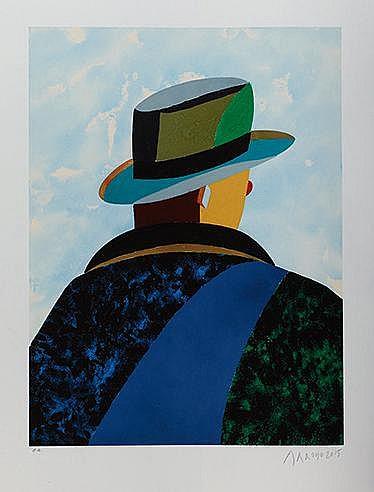 EDUARDO ARROYO (NE EN 1937) FAUST, 2015 Lithographies en couleurs Sign