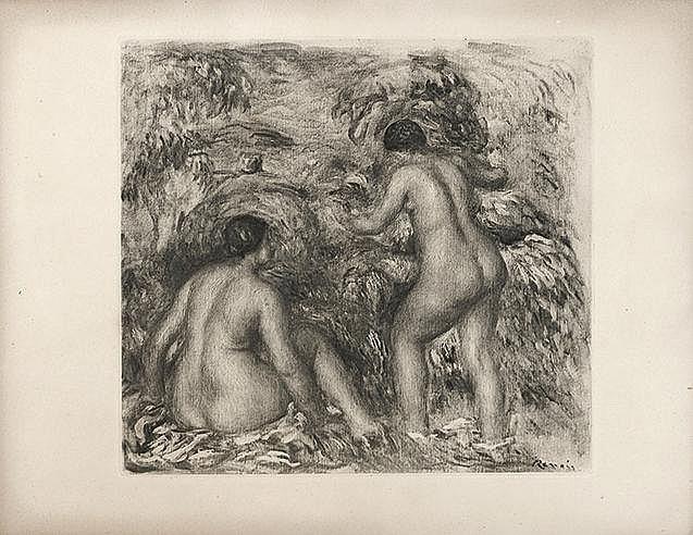 KER-XAVIER ROUSSEL (1867-1944) BAIGNEUSES, 1898 (Salomon, 17-Johnson 1