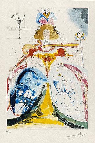 SALVADOR DALI (1904-1989) GIRL OF JERUSALEM (Michler & Löpsinger, ) Ea