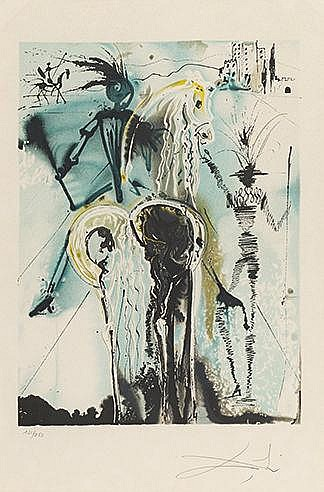 SALVADOR DALI (1904-1989) DON QUICHOTTE, 1970-1972 (Michler & Löpsinge