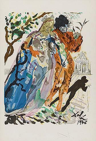 SALVADOR DALI (1904-1989) FILLE DE MINOS, 1978 (Michler & Löpsinger, 1