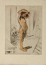 JACQUES VILLON (1875-1963) LE PETIT MODELE, 1904 (Ginestet & Pouillon,