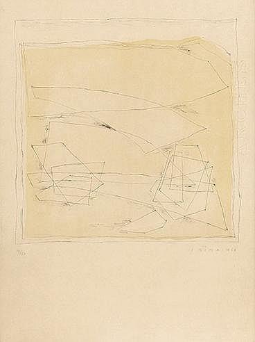 JOSEPH SIMA (1891-1971) SANS TITRE, 1963 Lithographie en couleurs sur