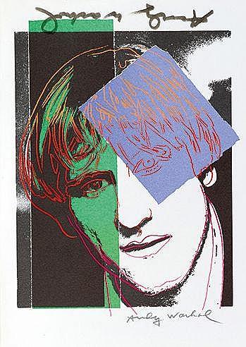 ANDY WARHOL (1928-1987) GERARD DEPARDIEU, 1986 (Prestel, 405) Magazine
