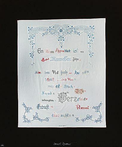DANIEL SPOERRI (NE EN 1930) SANS TITRE Ensemble de 2 digigraphies en c
