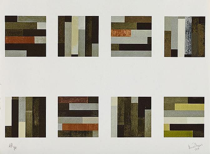 DAVID TREMPLETT (NE EN 1945) SANS TITRE, 1996 Lithographie en couleurs