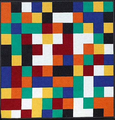 GERHARD RICHTER (NE EN 1932) 1024 COLOURS Tapis en laine Edition Vorwe