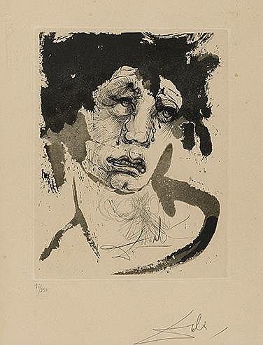 SALVADOR DALI (1904-1989) PORTRAIT DE SIGISMUND, 1971 (Michler-Lopsing