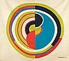 D'APRES SONIA DELAUNAY (1885-1979) SANS TITRE Sérigraphie en couleurs, Sonia Delaunay, €400