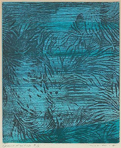 MAX ERNST (1891-1976) POUR UN TEXTE DE RENE CREVEL, 1958 (Spies-Leppie