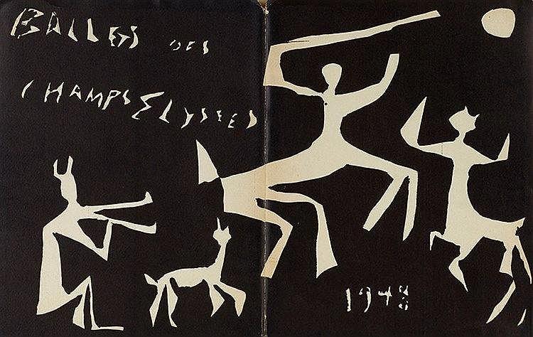 PABLO PICASSO (1881-1973) BALLETS DES CHAMPES ELYSEES, 1947-1948 Ensem
