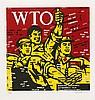 * WANG GUANGYI (NE EN 1957) GREAT CRITICISM-WTO, 2006 Lithographie en, Guangyi Wang, €1,400