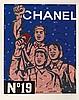 * WANG GUANGYI (NE EN 1957) GREAT CRITICISM-CHANEL, 2006 Lithographie, Guangyi Wang, €1,600
