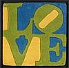 D'APRES ROBERT INDIANA (NE EN 1928) LOVE, 2006 Ensemble de 5 tapis en