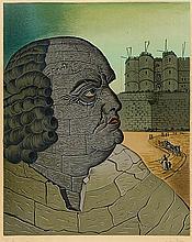 MAN RAY (1890-1976) LE MARQUIS DE SADE, 1970 (Anselmino, 8) Lithograph