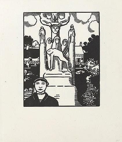 JEAN-EMILE LABOUREUR (1877-1943) QUATRE IMAGES BRETONNES, 1912 (Labour