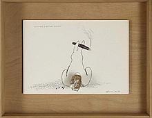 ERIK DIETMAN (1937-2002) HOMMAGE A ARTHUR CRAVAN,