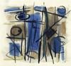 JACQUES GERMAIN (1915-2001)   COMPOSITION, Jacques (1915) Germain, €400