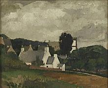 ANDRE MARE (1885-1932) - VILLAGE