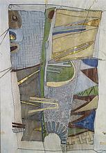 JOSEPH GHIN (NE EN 1926) SANS TITRE, 1994 Technique mixte sur papier Signé