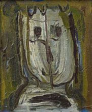 DORA TUYNMAN (1926-1979) SANS TITRE, 1959 Huile sur isorel Signée et datée