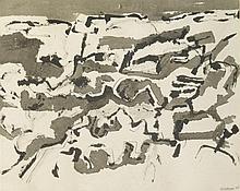 DORA TUYNMAN (1926-1979) SANS TITRE, 1958 Encre sur papier Signée et datée