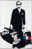 Street Art: BLEK LE RAT Français 1951 - Man that