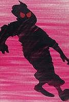 Street Art: VICTOR ASH Danois 1968 - Evil heroes,