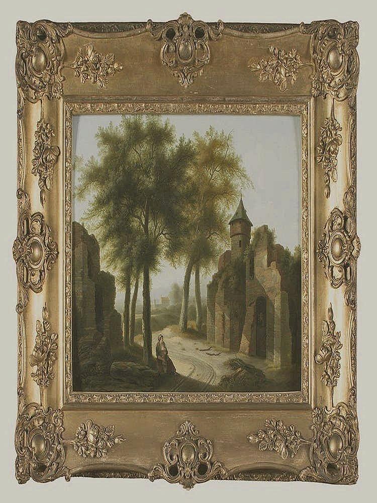 P.  J.  HUYSMANS (Actif à Bruxelles et Anvers entre  1786 et 1800) Femme et