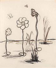 FABRICE HYBER (NE EN 1961) - SANS TITRE