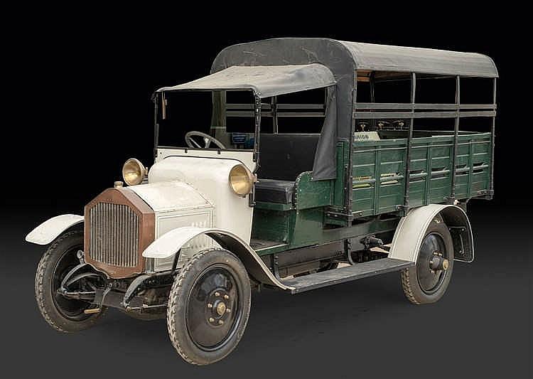 Camion léger, type H4 C n° de série 1402, 1914 Fiche descriptive de l'ingénieur des Mines le 14 février 1914