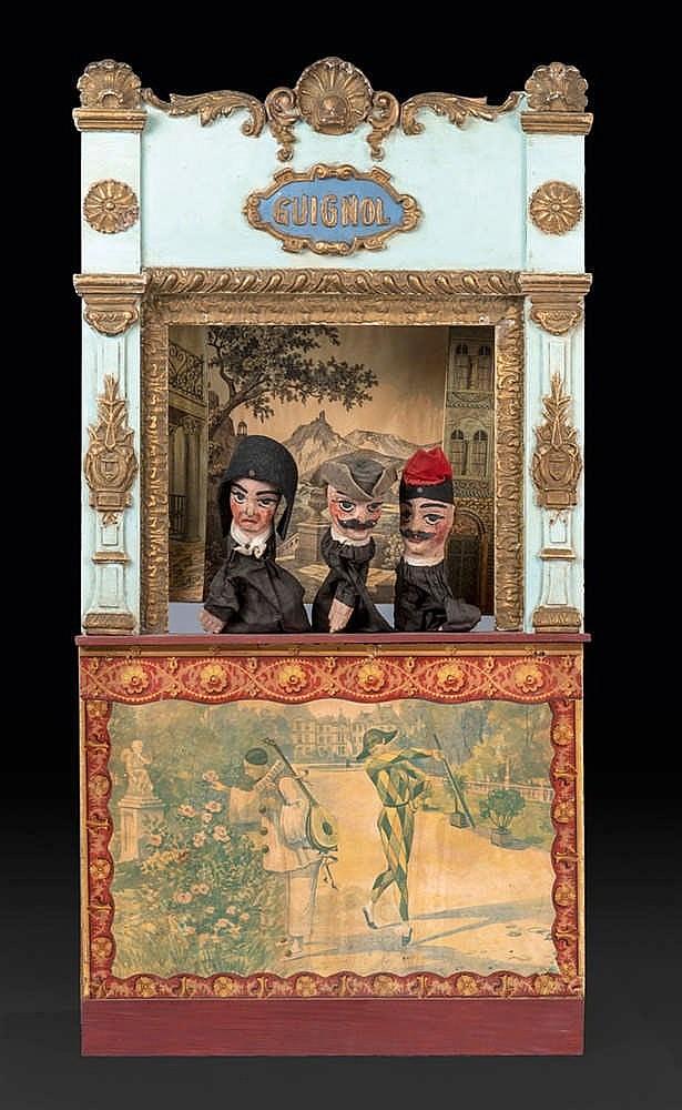 Anonyme Théâtre de Guignols de salon