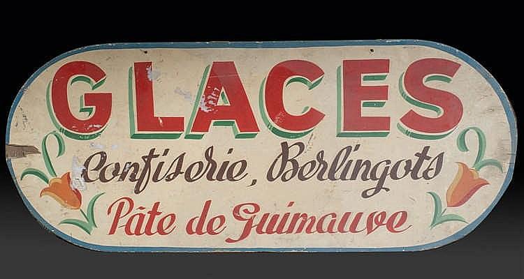 Anonyme « Glaces Confiserie, Berlingots Pâte de Guimauve »,