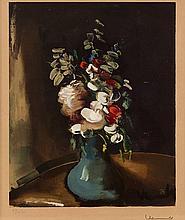 MAURICE DE VLAMINCK (1876-1958)   BOUQUET DE FLEURS
