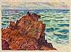ARMAND GUILLAUMIN (1841-1927)   LES ROCHERS ROUGES, 1896, Armand Guillaumin, €150