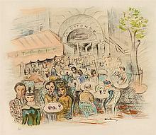 MOISE KISLING (1891-1953)   CAFE DE LA ROTONDE