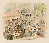 MOISE KISLING (1891-1953)   CAFE DE LA ROTONDE, Moise Kisling, €80
