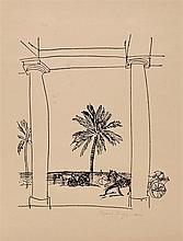 RAOUL DUFY (1877-1953)   LA TERRASSE