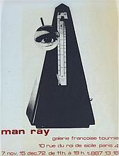 MAN RAY (1890-1976)   L'OBJET INDESTRUCTIBLE, 1972