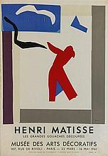 HENRI MATISSE (1869-1954)   Ensemble de deux affiches :