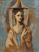 D'APRES PABLO PICASSO (1881-1973)   JEUNE FEMME DE MAJORQUE, 1954