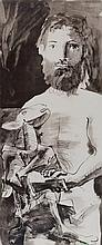D'APRES PABLO PICASSO (1881-1973)   L'HOMME AU MOUTON, 1967
