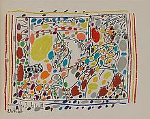 PABLO PICASSO (1881-1973)   A LOS TOROS, 1961