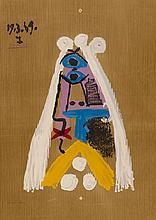 D'APRES PABLO PICASSO (1881-1973)   PORTRAIT IMAGINAIRE, 1969