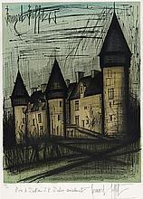 BERNARD BUFFET (1928-1999)   LE CHATEAU DE CULAN, 1965