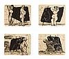 WILLIAM KENTDRIGE (NE EN 1955)   SUMER GRAFFITI, 2002, William Joseph Kentridge, €15,000