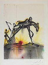 SALVADOR DALI (1904-1989)    LE CHEVAL DE LABEUR, 1972-1972