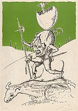 SALVADOR DALI (1904-1989)    LES SONGES DROLATIQUES DE PANTAGRUEL, 1973