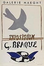 GEORGES BRAQUE (1882-1963)   Ensemble de deux affiches :